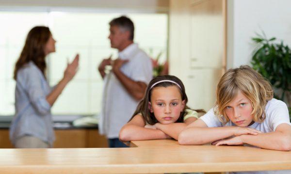 Спор родителей и дети