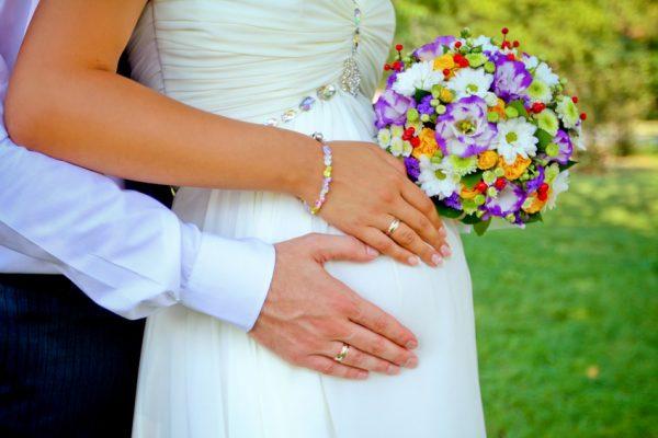 Невеста «в положении»