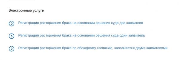 Скриншот портала «Госуслуги»