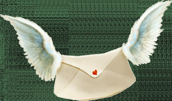 Письмо с крыльями