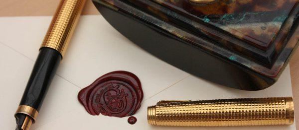 Ручка и печать