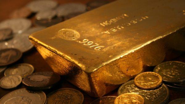 Золото в слитке и монеты