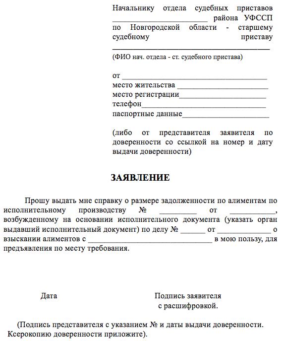 Заявление приставам на взыскание задолженности арест на счета судебным приставом