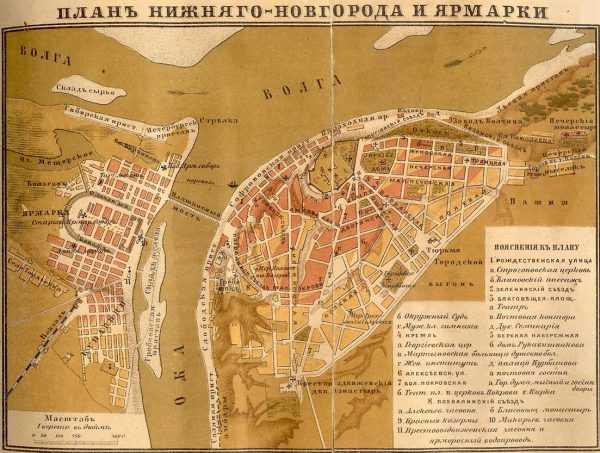 Ярмарки Нижнего Новгорода