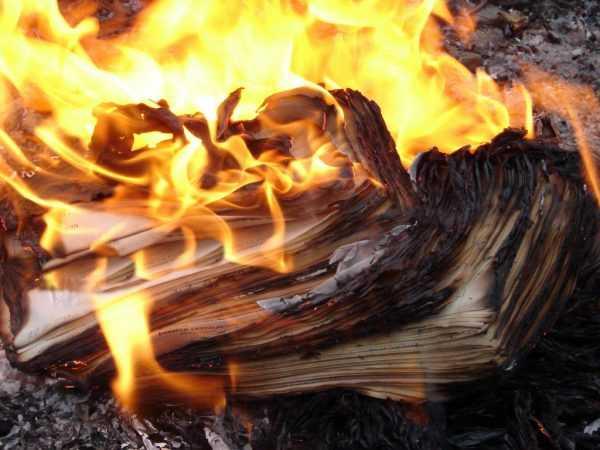 Утеря документов при пожаре