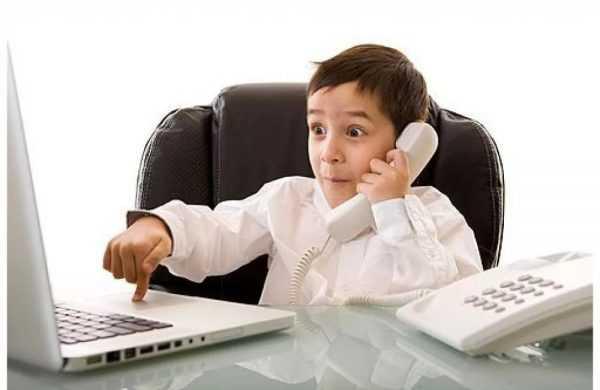 предприниматель ребенок