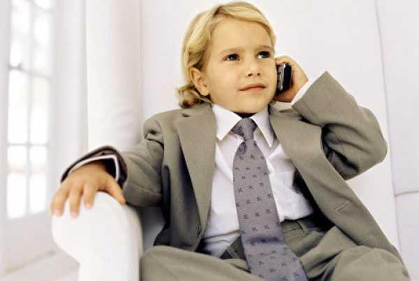 ребёнок-бизнесмен