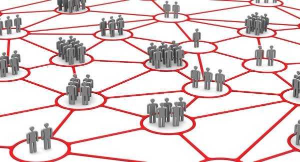 Схематические группы людей