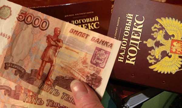 Налоговый кодекс и 5000 рублей в руках