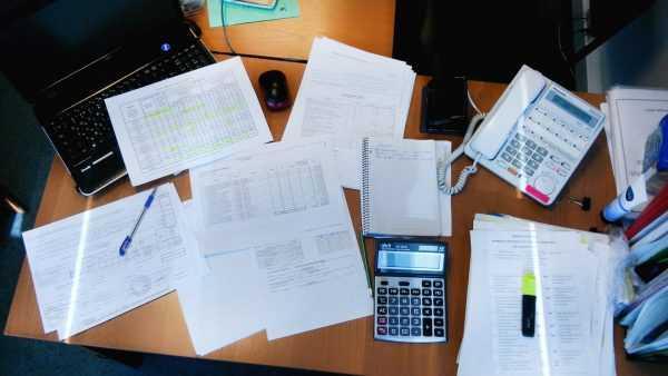Документы на рабочем столе