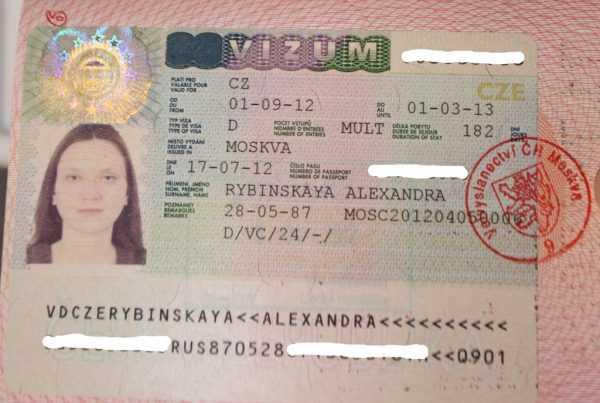 Шенгенская виза в Чехию