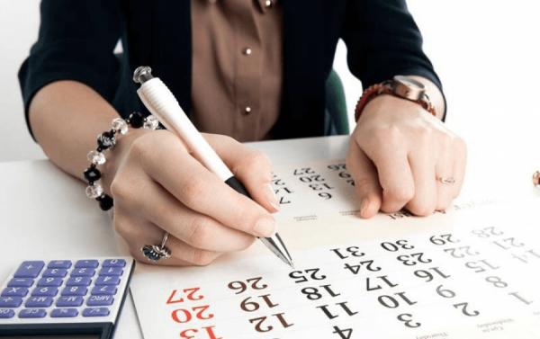 Календарь бухгалтера со сроками подачи отчётов