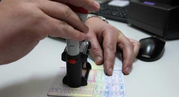 Штампы пограничного контроля в паспорте