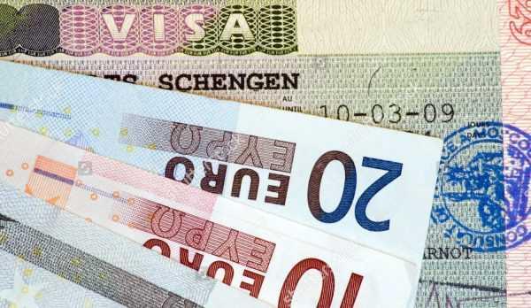 Виза и евро