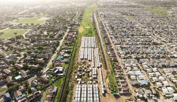 Белые и чёрные кварталы в ЮАР