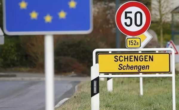 Указатель Шенгена