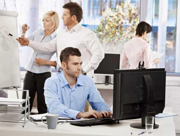 Сотрудники в офисе