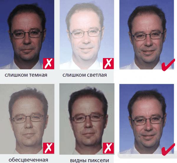 Варианты фото для анкеты