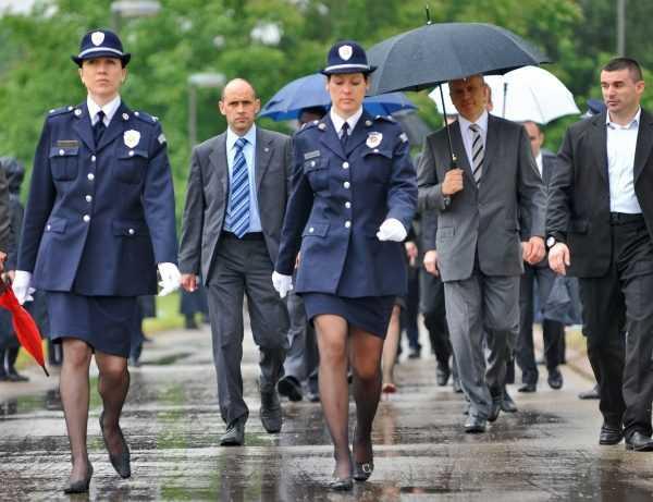 Сербские полицейские