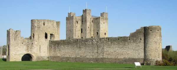 Рыцарский замок в Ирландии