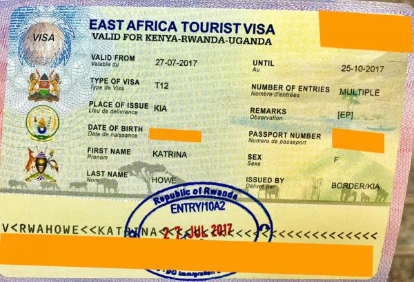 Восточноафриканская виза