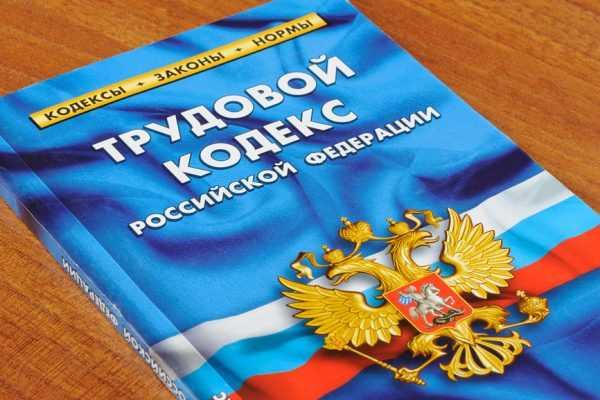 Брошюра с текстом Трудового кодекса РФ