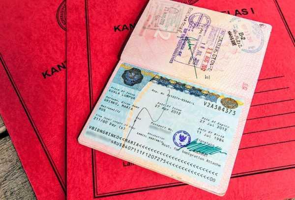 Папка для документов и паспорт
