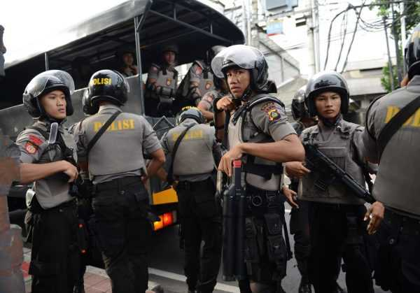 Полицейские на Бали