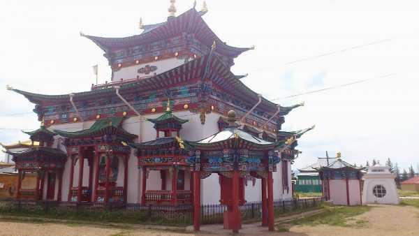 Храм в Монголии