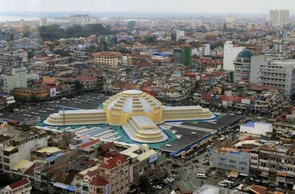 Панорама Пномпеня