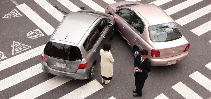 Дорожно-транспортное происшествие в Японии