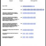 Нулевая декларация по НДС, лист 2