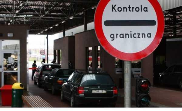 КПП на польской границе