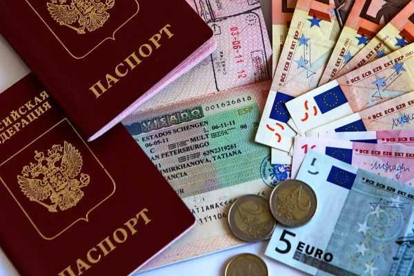 Шенгенская многоразовая виза, евро и загранпаспорта