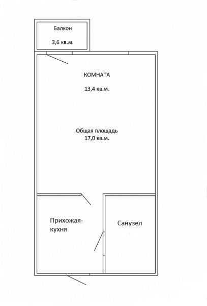 Планировка квартиры закрытого гостиничного типа