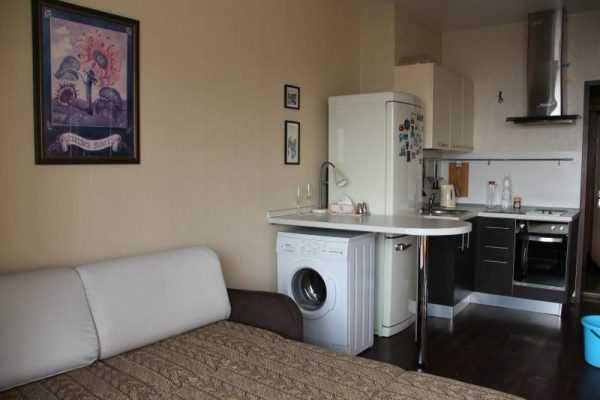 Интерьер квартиры гостиничного типа