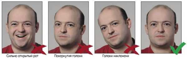 4 мужские фото с наклонами головы