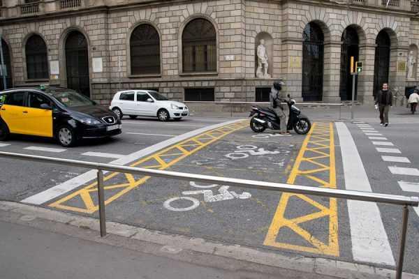 Стоп-линия для мотоциклистов