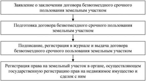 Порядок оформления земельного участка в безвозмездное пользование