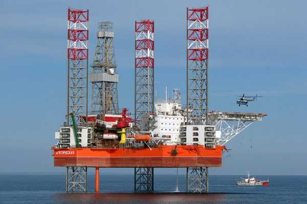 Нефтяные платформы Норвегии
