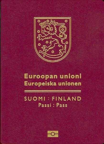 Паспорт Суоми