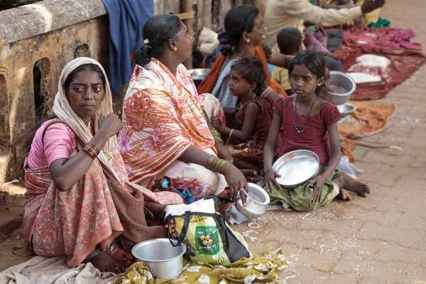 Нищие в Индии