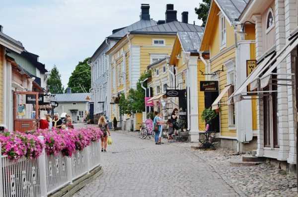 Улица финского города