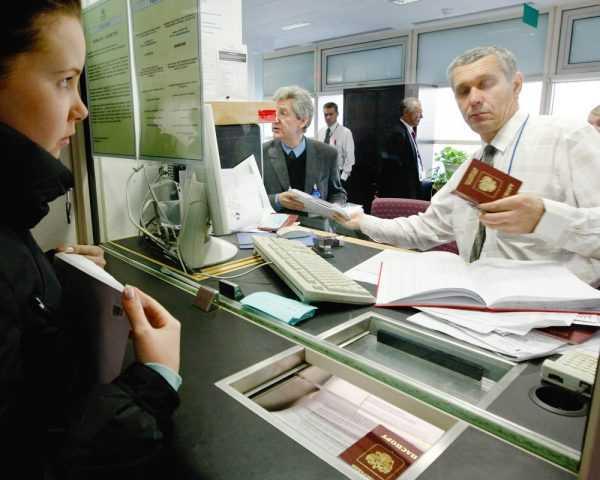 Подача докментов в Британском визовом центре