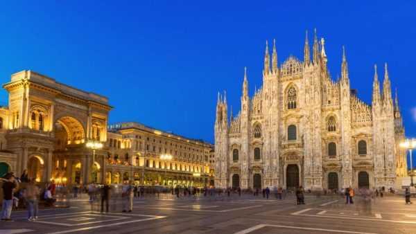 Милан — центр Ломбардии