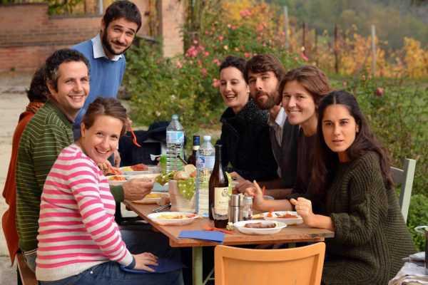 Семья в Италии