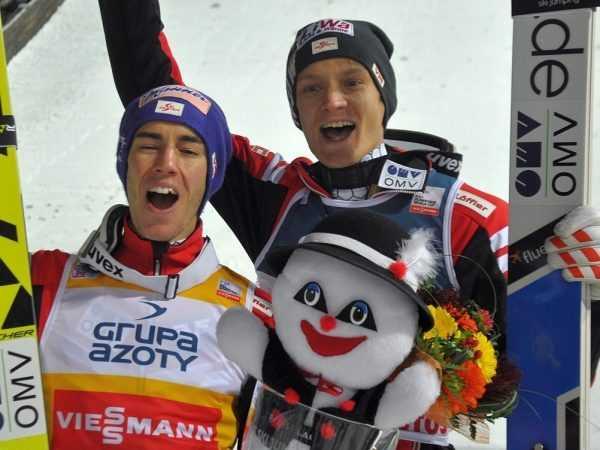 Норвежские спортсмены-горнолыжники
