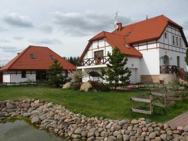 Домик в Латвии