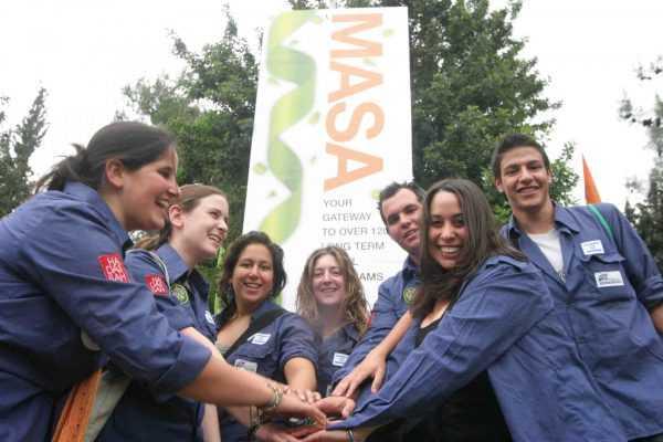Участники одной из программ МАСА