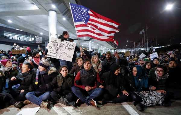 Беженцы в США